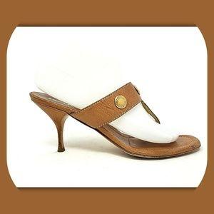 PRADA Leather Sandals Heels